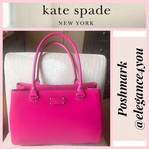 ✨KATE SPADE✨Spunky Hot Pink Leather Purse!